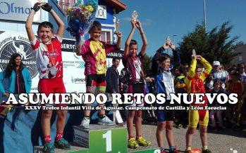 Sergio López bronce en el Campeonato de Castilla y León Escuelas ruta
