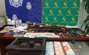 Desarticula una organización criminal dedicada al tráfico de drogas