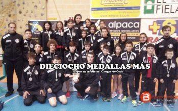 Dieciocho medallas para el Quesos el Pastor en el Open de Asturias