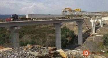 Finaliza la construcción del viaducto de Otero de Sanabria para el AVE