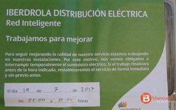 Nuevos cortes de luz para el miércoles y el viernes en Benavente