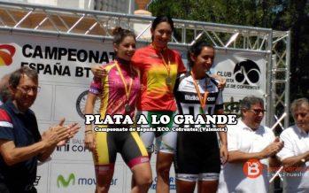 Medalla de plata para Sara Yusto en el Campeonato de España XCO