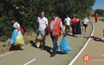 Cruz Roja Benavente ha recogido un total de 21,7 kilos de basura