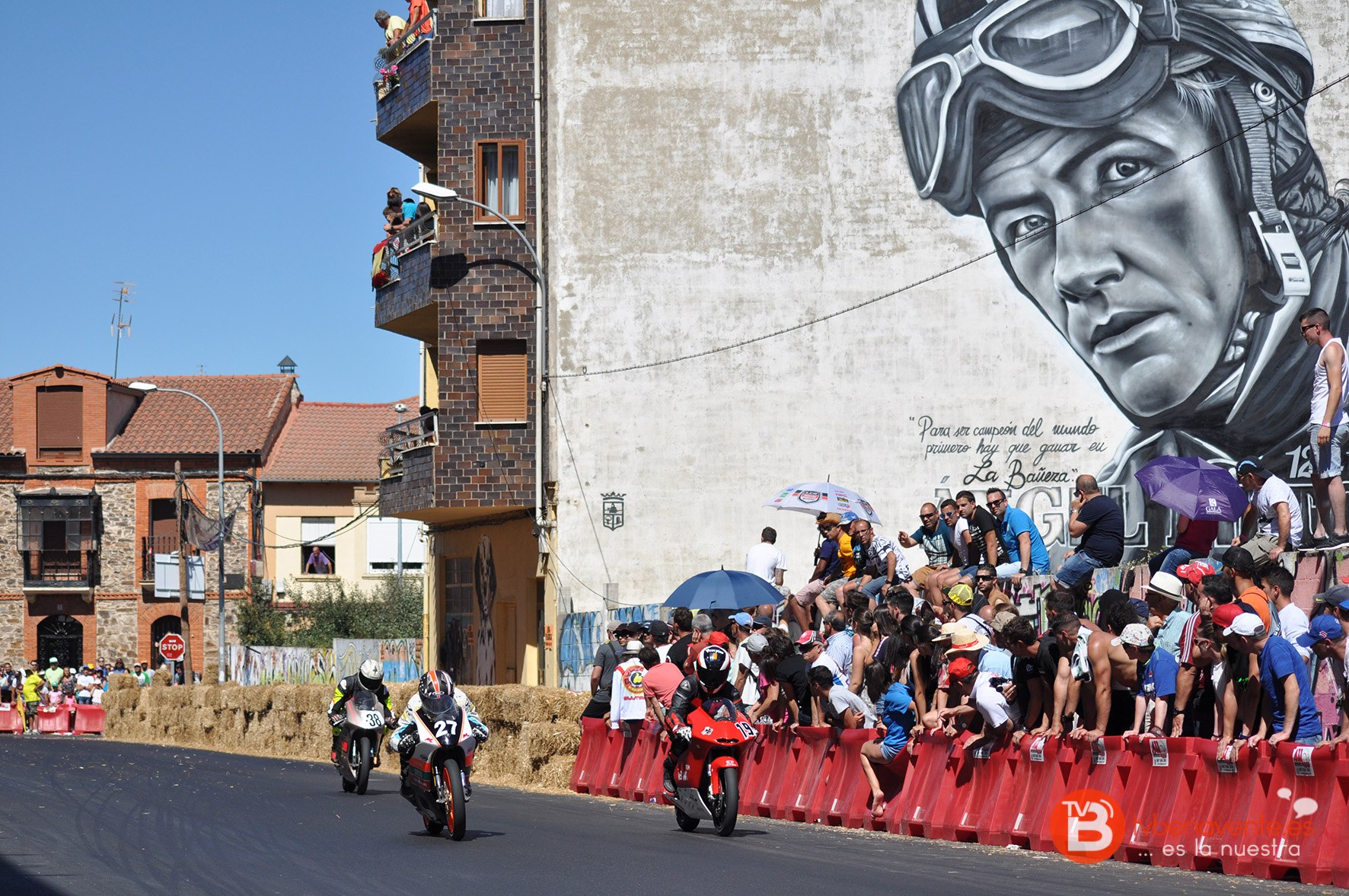 Circuito Urbano La Bañeza : Imágenes de la carrera motos ciudad bañeza