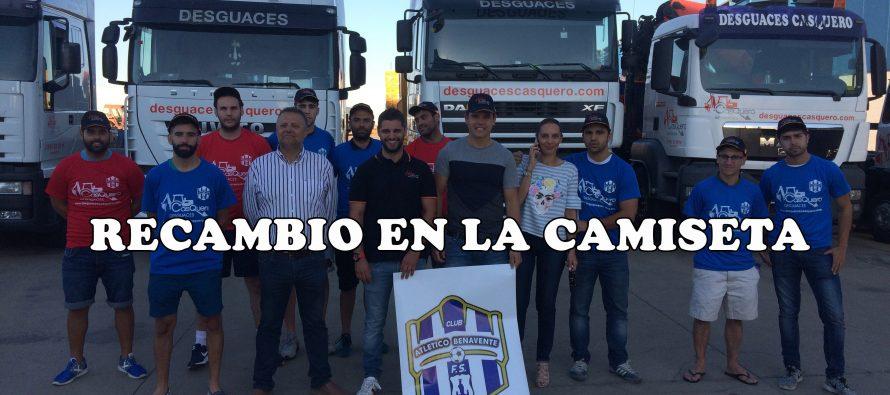 Desguaces Casquero empujará al Atlético Benavente a segunda división