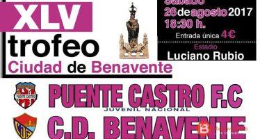 Puente Castro rival del C.D Benavente en la XLV edición de su trofeo
