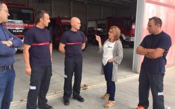 Agradecimiento a los bomberos de Bermillo por el incendio de Fermoselle