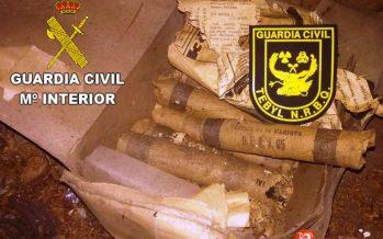 Desactivados 20 cartuchos de dinamita en Fresnadillo de Sayago