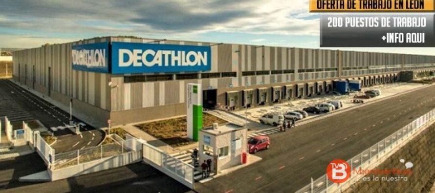 Decathlon ofrece 200 puestos de trabajo para León