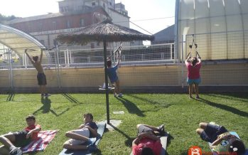 El Benavente Natación entrena para la Travesía a nado Lago de Sanabria