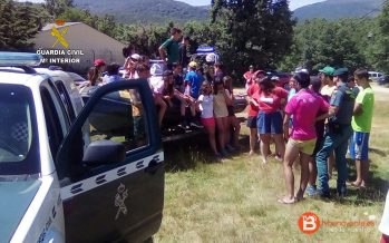 Los Scouts de Benavente conviven con SEPRONA en el Lago de Sanabria