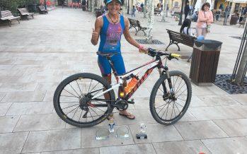 Pepa García campeona absoluta de Castilla y León de Triatlón Cross