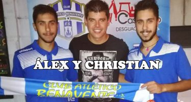 Álex y Christian ya son oficialmente jugadores del Desguaces Casquero