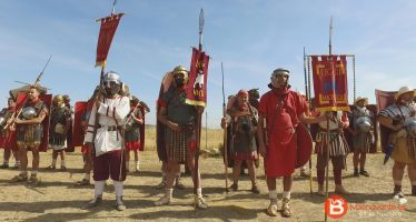 VIDEO: Recreación histórica en el Campamento Romano de Petavonium