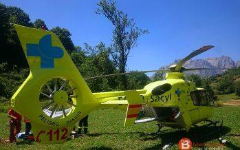Fallece un hombre tras volcar de la máquina en Villanueva de la Sierra