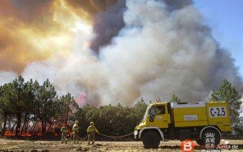 400.000 euros es el coste de la extinción del incendio de Fermoselle