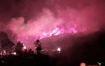 La época de peligro medio de incendios se mantendrá hasta el jueves