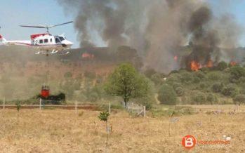 Declarado un incendio este sábado en Sejas de Aliste