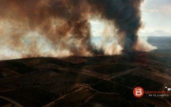 El fin de semana se salda con diez incendios en la provincia de Zamora