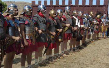GALERÍA: Recreación histórica hasta el campamento romano de Petavonium