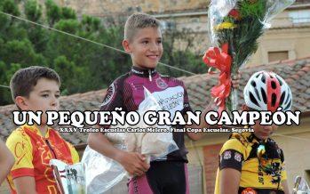 Sergio López Campeón de Castilla y León de la Copa Escuelas