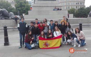 Alumnos de La Vega demuestran su nivel de inglés en Reino Unido