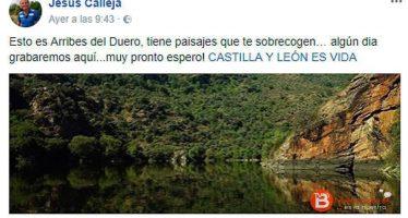Jesús Calleja anuncia una cercana grabación en los Arribes del Duero