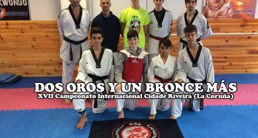 Aarón Carracedo y Daniel Lucena oro y Arkaitz bronce en Galicia