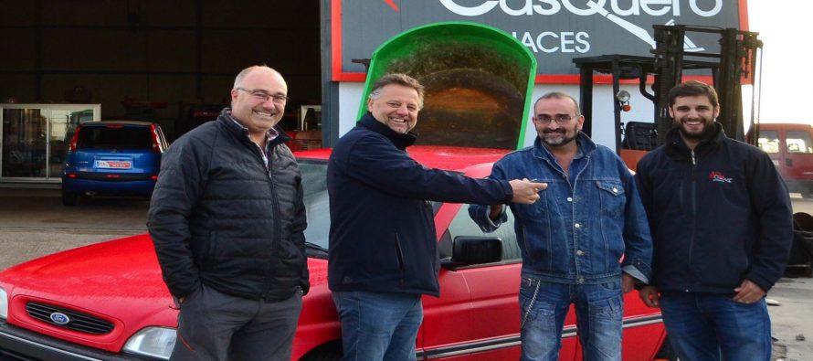 Ganador del coche sorteado por la Asociación de Vehículos Clásicos
