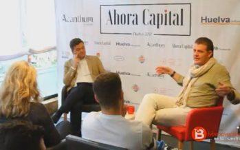 Pedro Mario representó a El Ermitaño en el ciclo Ahora Capital en Huelva