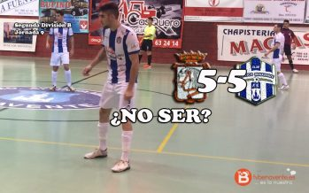 El Desguaces Casquero pierde en Cuéllar con un 3-5 a falta de un minuto