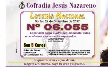 Participaciones de Navidad de la Cofradía Jesús Nazareno de Benavente