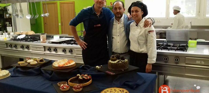 la chef benaventana alba otero en el programa cocinando