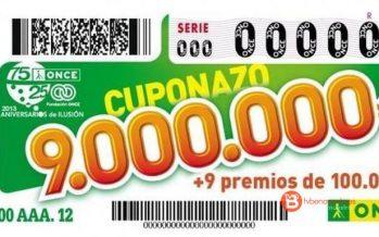 El cuponazo de la ONCE deja un premio de 250.000 euros en Sanabria