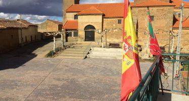 Matilla de Arzón ya cuenta con su remodelada Plaza Mayor