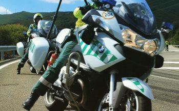 Las motos de los agentes de la Guardia Civil utilizarán radares móviles